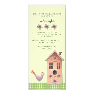 Bridal Shower Invitations or Garden Party Event