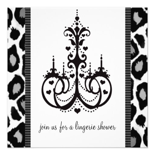 Bridal Shower Invitations or Lingerie Party Event