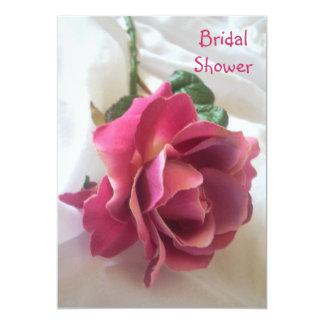 "Bridal Shower Invitations ""Rose"""