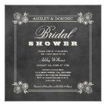 Bridal Shower Invitations | Vintage Chalkboard