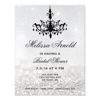 Bridal Shower Invite   Chandelier