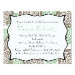 "Bridal shower invite for lauren 4.25"" x 5.5"" invitation card"