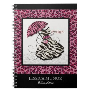 Bridal Shower Invite Leopard, Personalized Journal
