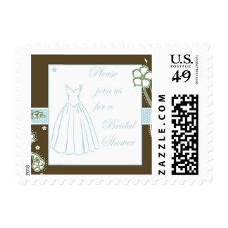 Bridal Shower Invite Stamp