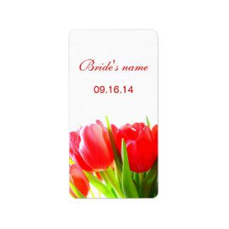 Bridal Shower Label