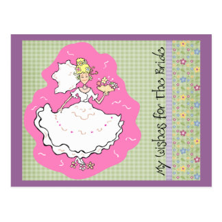 Bridal Shower Marriage Advice & Best Wishes Cards