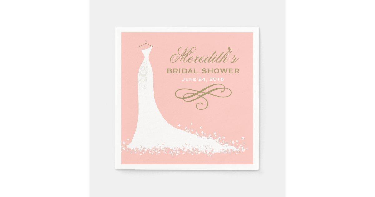 Bridal Shower Napkins