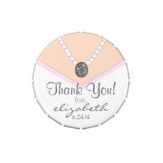Bridal Shower or Bridesmaid Gift Candy Tins at Zazzle