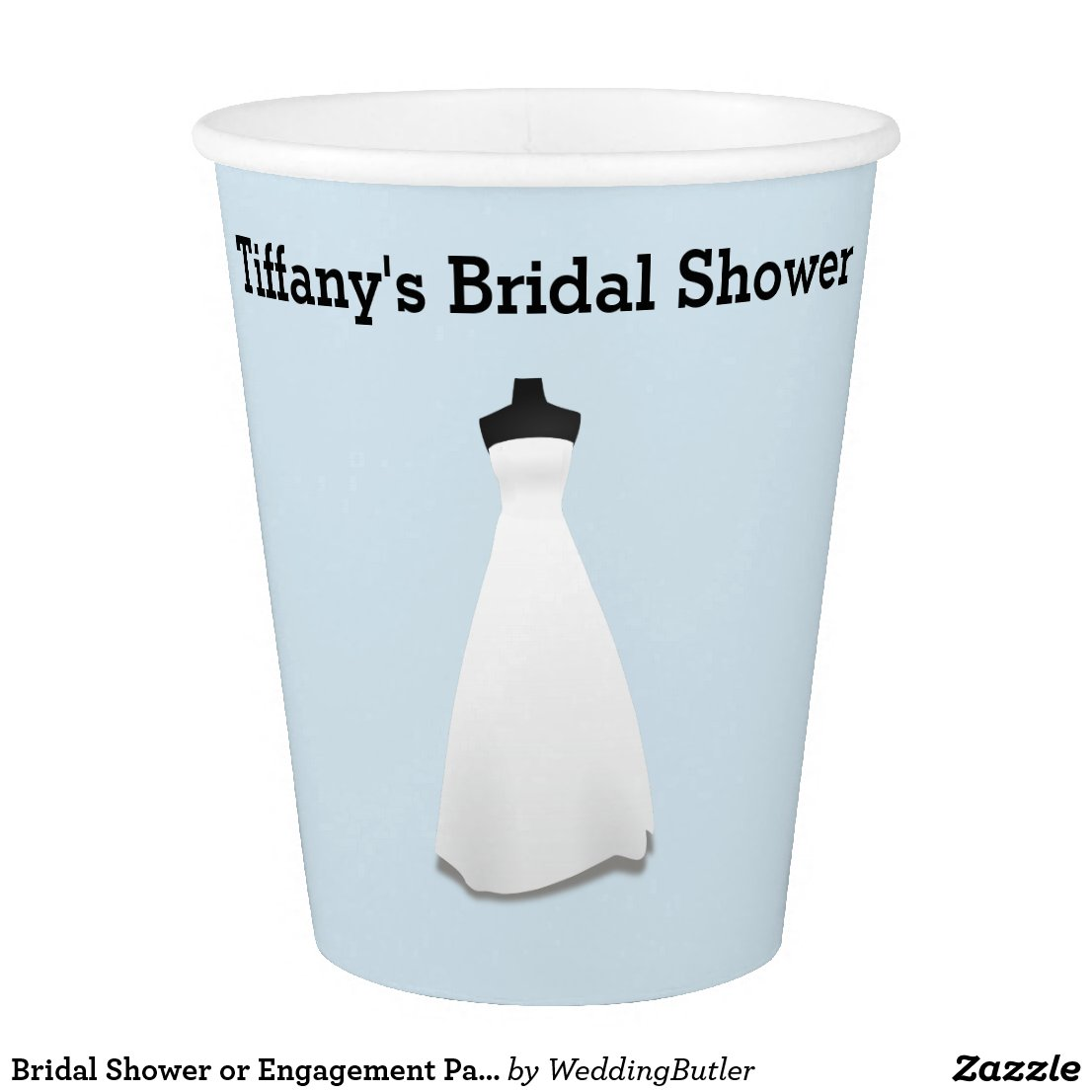 Bridal Shower or Engagement Party Paper Cups