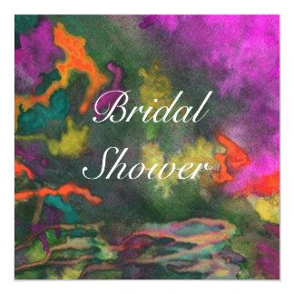 Bridal Shower Pink Fusion 2 Wedding Invitation