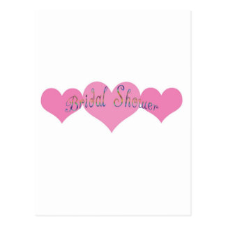 Bridal Shower Post Card