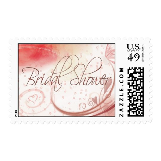 Bridal Shower Postage