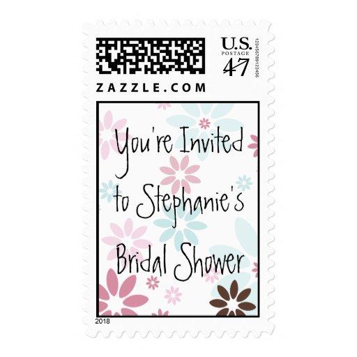 Bridal Shower Postage