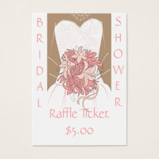 Bridal Shower Raffle Tickets