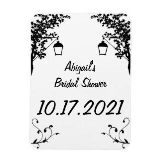 Bridal Shower Reminder or Keepsake Magnet