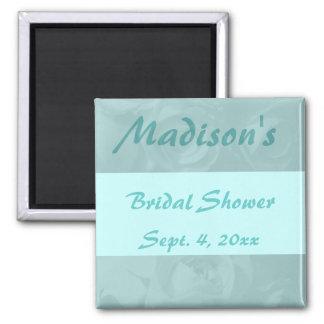 """Bridal Shower"" - Roses w/ Name & Date Magnet"