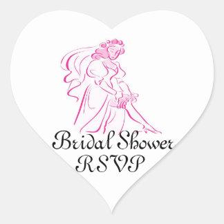 Bridal Shower RSVP Sticker