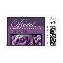 BRIDAL Shower - Shades of Purple - Roses Postage