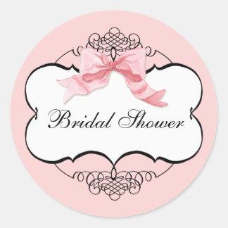 Bridal Shower - Shower Sticker or Seal