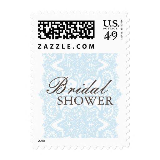 Bridal Shower Small Postage-Vintage Blossom