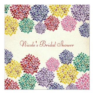 Bridal Shower Spring Flower Garden Invitation