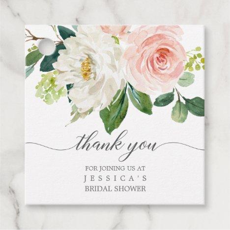 Bridal Shower Thank You Favor Tag