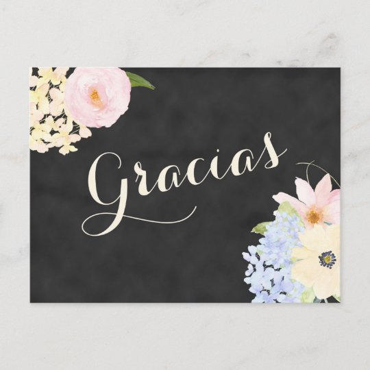 bridal shower thank you note in spanish invitation