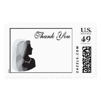 Bridal Shower Thank You Postage