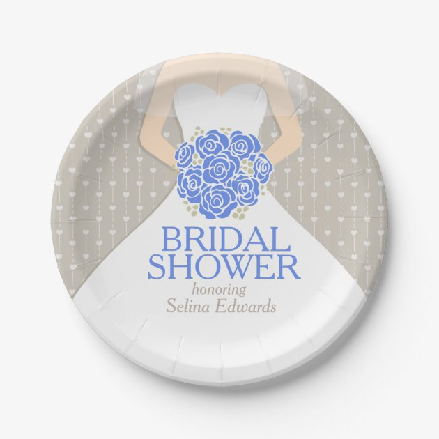 bridal shower paper plates A bridal shower is always a special occasion and we can help make sure that your tableware shows just how special a day this is at party value, there are numerous.