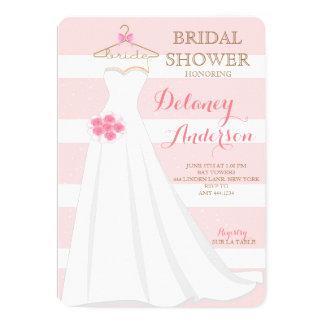 Bridal Shower Wedding Dress Invitations