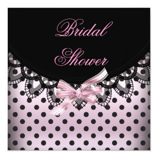 Bridal Shower Wedding Shower Party Zebra Card