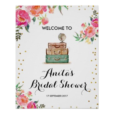 HappyPartyStudio Bridal Shower Welcome Sign