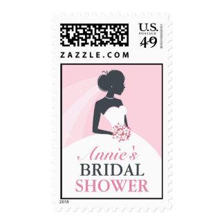 Bridal Shower White Dress Medium Postage