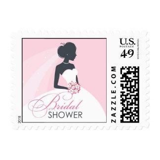 Bridal Shower White Dress Small Postage