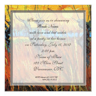 Bridal shower, Willows at Sunset Announcements