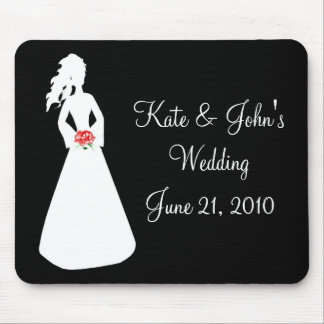 Bridal Silhouette II Mouse Pad