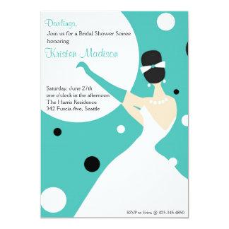 Bridal Soiree 5x7 Paper Invitation Card
