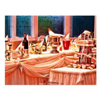 Bridal Table Postcard