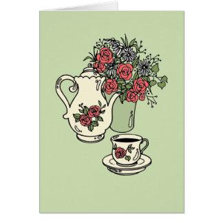 Bridal Tea - Customizable Colors! Card