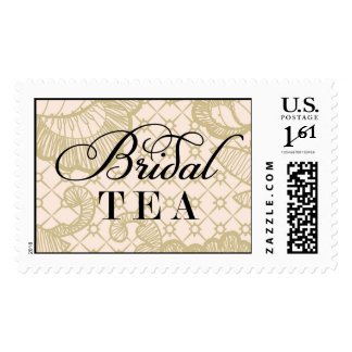 Bridal Tea Lace Stamp