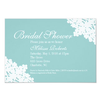Bridal Tea or Shower Invite | Bridal Lace