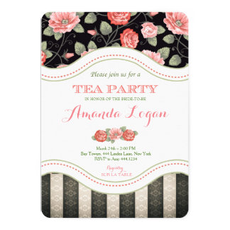 Bridal Tea Party Invitation