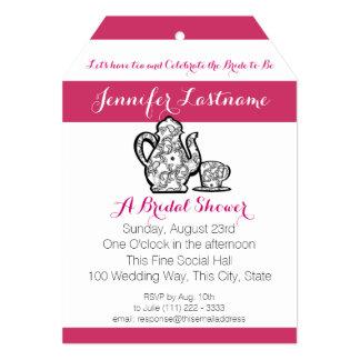 Bridal Tea Party with Color Choice Card