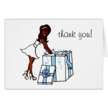 Bridal Thank You (blank) Card