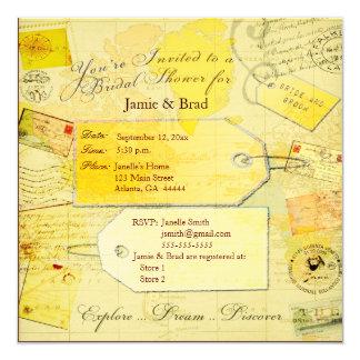 Bridal Travel Shower theme Card