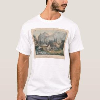 Bridal Veil Fall, Yosemite (1303) T-Shirt