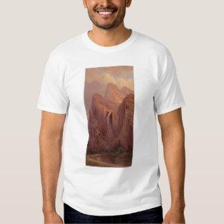 Bridal Veil Fall, Yosemite Valley (0128A) T-shirt