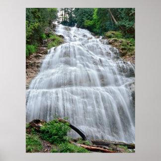 Bridal Veil Falls, British Columbia, Canada Print