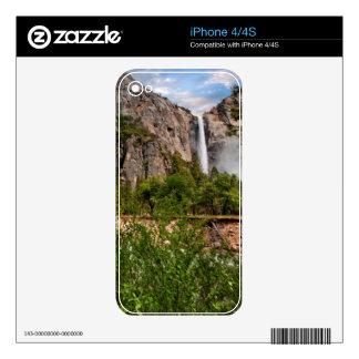 Bridal Veil Falls iPhone 4 Skins