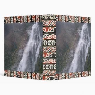Bridal Veil Falls New Zealand 3 Ring Binder